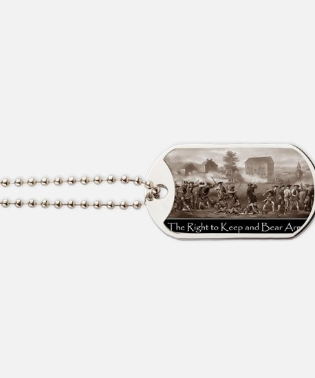 The Right to Keep and Bear Arms Dog Tags