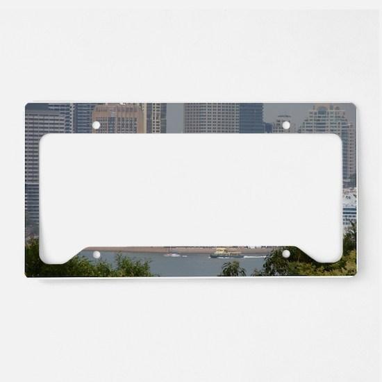 Sydney Opera House License Plate Holder