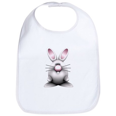 White Bunny Bib