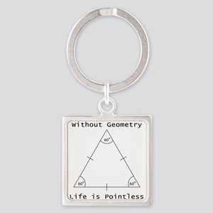 Geometry Like Black Keychains