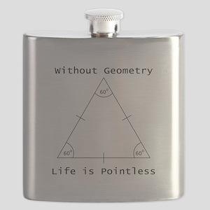 Geometry Like Black Flask