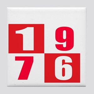 Born In 1976 Designs Tile Coaster