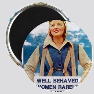 Well Behaved Women Magnets