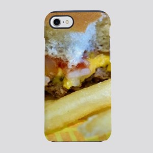 Cheeseburger and Fries iPhone 7 Tough Case