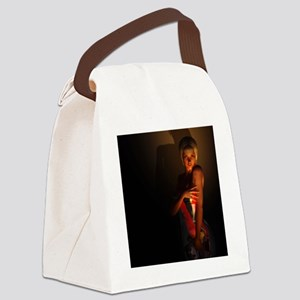 rr_shower_curtain Canvas Lunch Bag