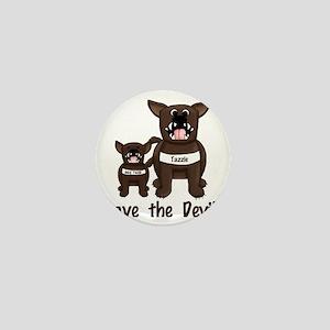 Save the Devils - Tasmanian Devils Mini Button