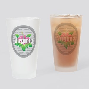 Virginia Hibiscus Drinking Glass