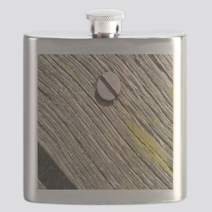 Nailed Down Driftwood Flask