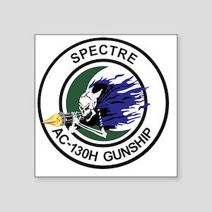 "AC-130H Spectre Gunship Square Sticker 3"" x 3"""