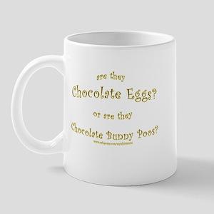 Chocolate Egg Joke Mug
