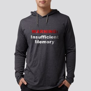 Insufficient Memory At This Time Long Sleeve T-Shi
