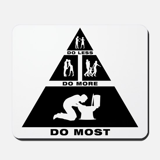 Throwing-Up-11-A Mousepad