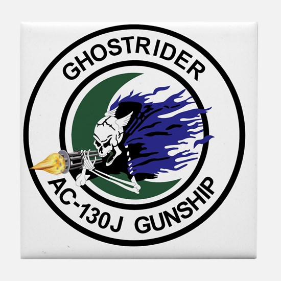 AC-130J Ghostrider Gunship Tile Coaster