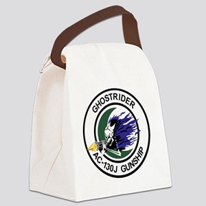 AC-130J Ghostrider Gunship Canvas Lunch Bag