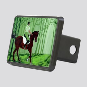 Through There? -Equestrian Rectangular Hitch Cover