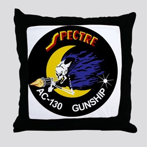 AC-130 Spectre Gunship Throw Pillow