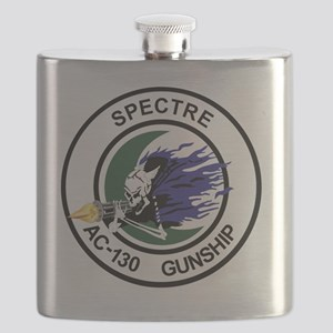 AC-130 Spectre Gunship Flask