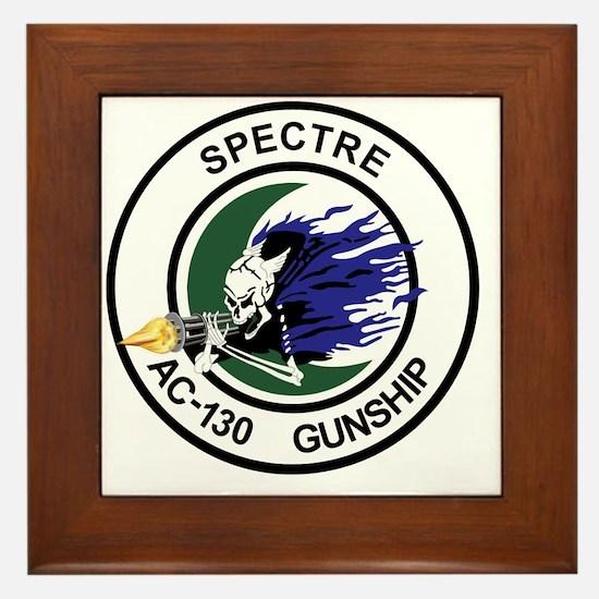 AC-130 Spectre Gunship Framed Tile