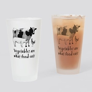 vegetables Drinking Glass