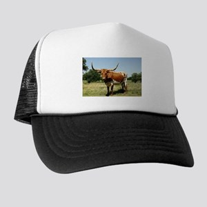 Longhorn Cow Trucker Hat