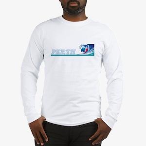 perthwavblk Long Sleeve T-Shirt