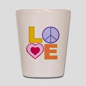 Love Art Shot Glass