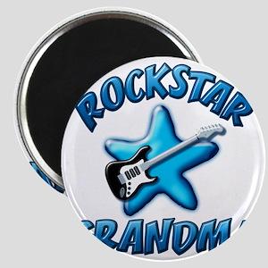 Rockstar Grandma Magnet