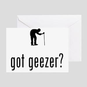 Geezer-02-A Greeting Card