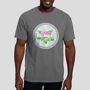 Michigan Hibiscus T-Shirt