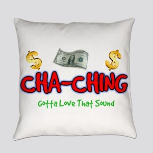 Cha-Ching Everyday Pillow
