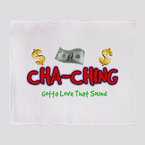 Cha-Ching Throw Blanket