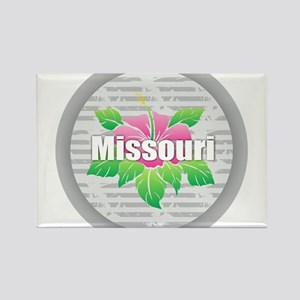Missouri Hibiscus Magnets