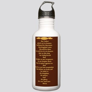 The Lords Prayer Whe.. Stainless Water Bottle 1.0L