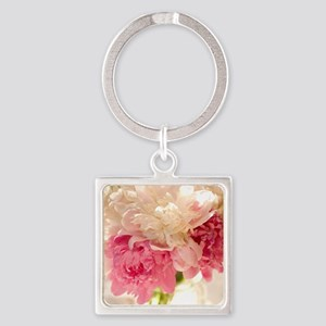 FLORAL Square Keychain