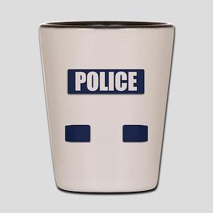 Police Bullet-Proof Vest Shot Glass