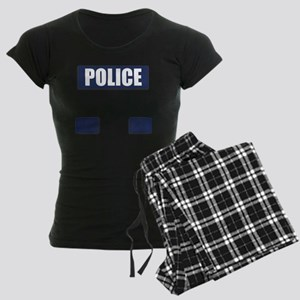 Police Bullet-Proof Vest Women's Dark Pajamas