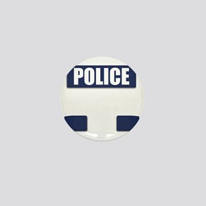 Police Bullet-Proof Vest Mini Button