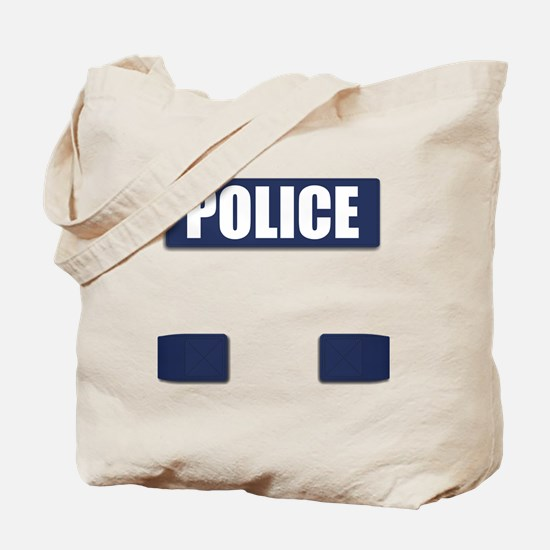 Police Bullet-Proof Vest Tote Bag