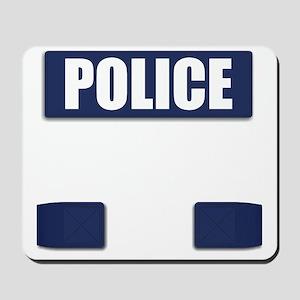 Police Bullet-Proof Vest Mousepad