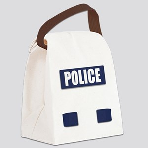 Police Bullet-Proof Vest Canvas Lunch Bag
