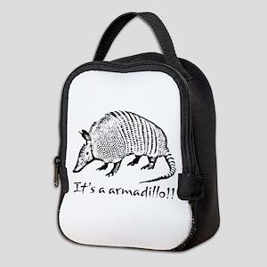 2-Armadillo_dark Neoprene Lunch Bag