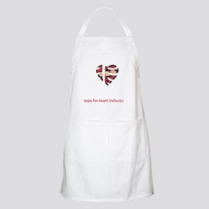 mended heart ribcage Apron