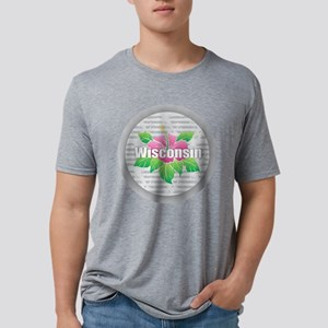 Wisconsin Hibiscus T-Shirt