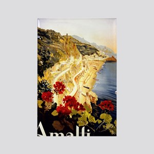 Antique Italy Amalfi Coast Travel Rectangle Magnet
