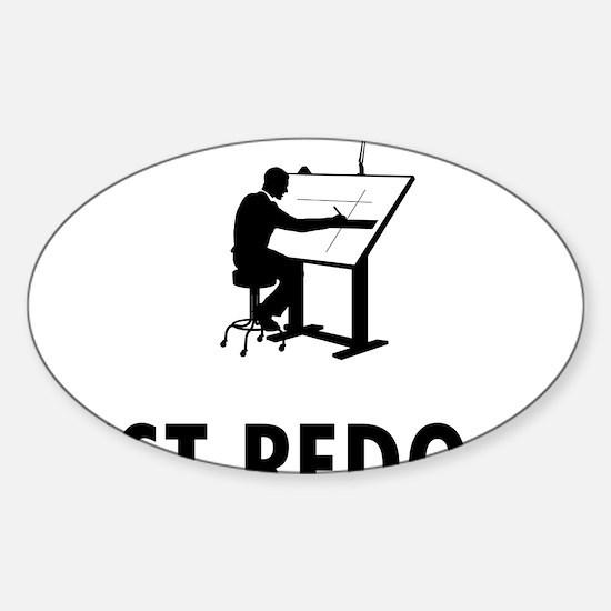 Architect-05-A Sticker (Oval)