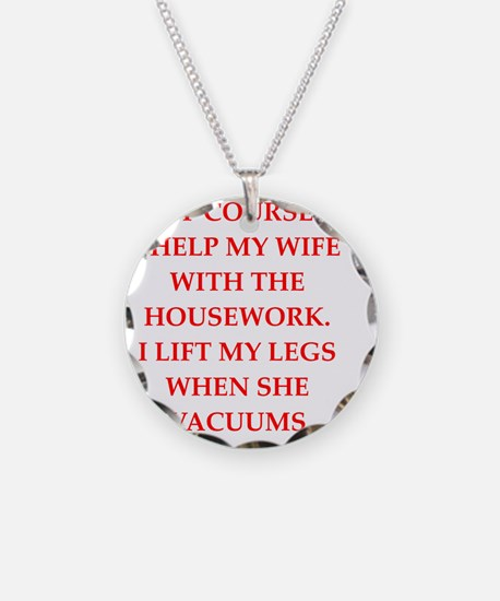 male chauvinist pig Necklace