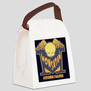 monsatan-bee-BUT Canvas Lunch Bag