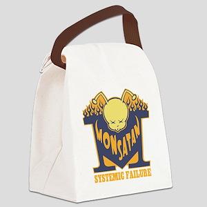 monsatan-bee-T Canvas Lunch Bag