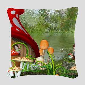 dl_Dinner Placemats_1184_H_F Woven Throw Pillow