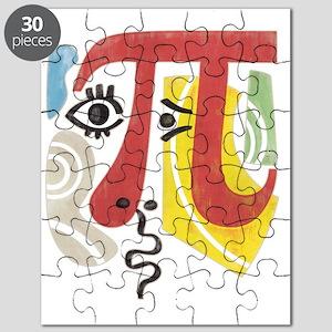Pi-Casso Pi Symbol Puzzle